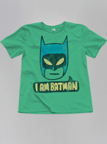 Junk Food Clothing Kids Boys I Am Batman Tee-gras-l