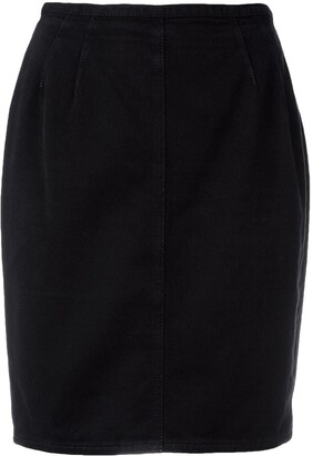 Jean Paul Gaultier Pre-Owned fitted mini skirt