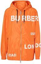 Burberry Horseferry Print Nylon Hooded Jacket