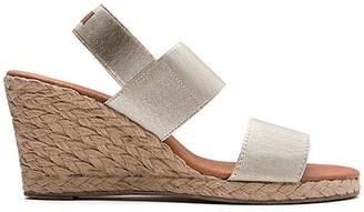 Andre Assous Allison Espradille Wedge Sandals