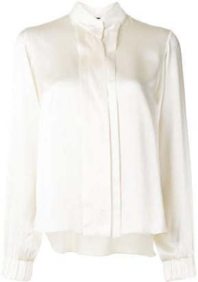 Alexis Vallan satin blouse