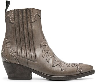 Sartore Western-style ankle boots