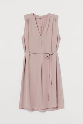 H&M Tie Belt Dress - Pink