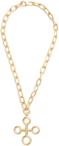 CHUFY X Aracano Southern Cross gold-plated necklace