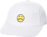 Rusty No Waves Snapback Cap White