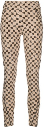 Misbhv Monogram Print Leggings