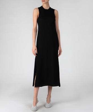 Atm Sleeveless Pocket Tee Maxi Dress - Black