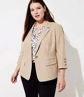 LOFT Plus 3/4 Sleeve Blazer