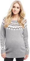 Motherhood Fairisle Maternity Sweater
