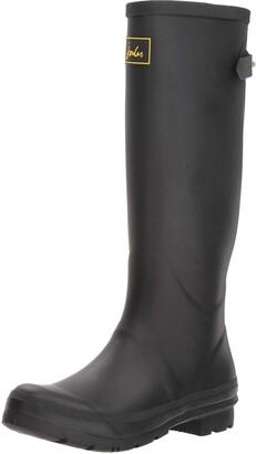 Joules Women's Field Welly Rain Boot Black 7 Medium UK (9 US)