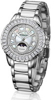 Silvia Rossini Ladies' Stone Set Stainless Steel Bracelet Watch