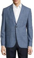 HUGO Textured Two-Button Blazer