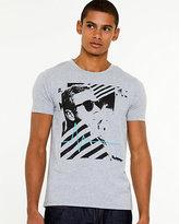 Le Château Placement Print Cotton T-shirt