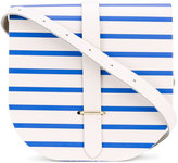 The Cambridge Satchel Company striped saddle bag - women - Calf Leather - One Size