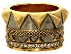 House Of Harlow Conquistadors Crown Ring