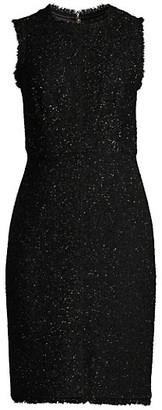 Kate Spade Tinsel Lurex Tweed Dress