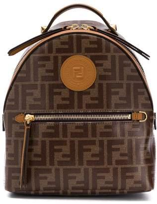 Fendi mini monogram backpack