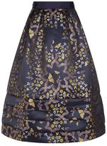 Ted Baker Ellaina Kyoto Gardens Jacquard Midi Skirt