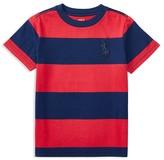Ralph Lauren Boys' Jersey Stripe Tee - Little Kid