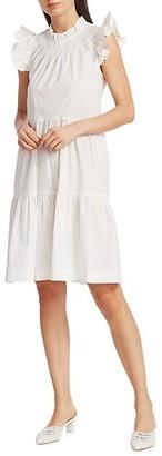 Sea Waverly Ruffle Tunic Dress