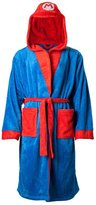 Nintendo Official Super Mario Bros. Mario Adult Dressing Gown Bathrobe
