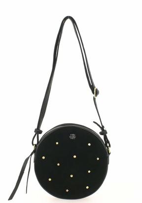 Mila Louise Women's 3308VCG Cross-Body Bag Black Black (Black)