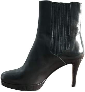 Fratelli Rossetti \N Black Leather Ankle boots