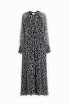 Paul & Joe Paisley Chiffon Dress
