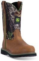 John Deere Men's Slip-Resistant Waterproof Work Boots
