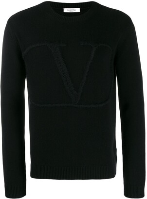 Valentino Vlogo knitted sweater