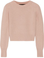 cropped sweater beige - ShopStyle