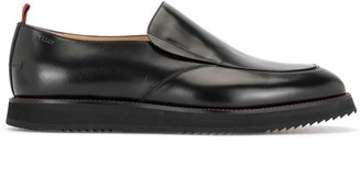 Bally Slip-On Leather Loafers