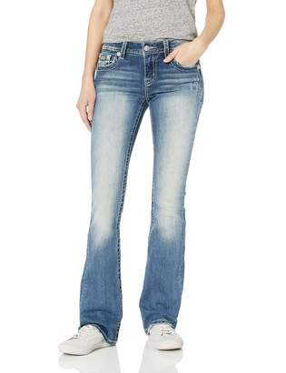 Miss Me Women's Mid-Rise Chloe Boot Cut Jeans