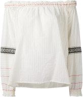 Lemlem off shoulder tunic - women - Cotton - M