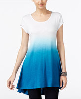 Joseph A Ombre Swing High-Low Tunic