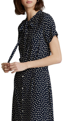 Polo Ralph Lauren Belted Short-Sleeve Dress