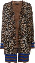 By Malene Birger leopard knit cardigan