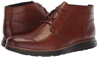 Cole Haan Original Grand Chukka (Black Leather/Black) Men's Shoes
