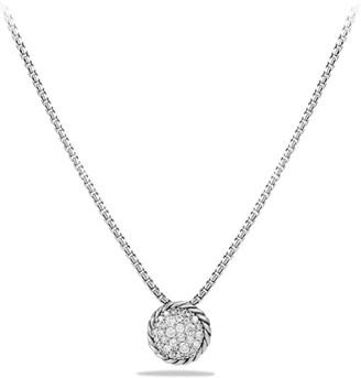 David Yurman Pave Petite Pendant Necklace with Diamonds
