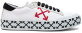 Off-White Vulcanized Arrow Sneakers in White.