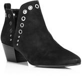Black Boots Gold Heel - ShopStyle