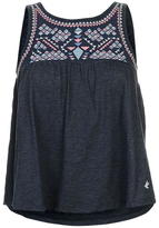 Soul Cal SoulCal Embroidered Panel Vest Ladies