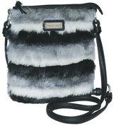 Adrienne Landau Women's Faux Fur Crossbody