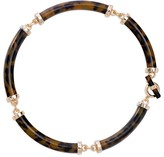 Lauren Ralph Lauren Tube Collar Necklace, 16""