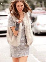 Victoria's Secret Supermodel Essentials Faux-fur Vest