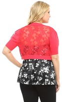 Hello Kitty Red Lace Back Shrug