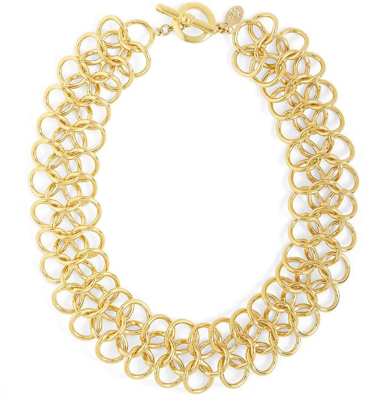 Brooks Brothers Linked Rings Necklace