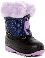 Kamik Fluffball Faux Fur Lined Boot (Toddler)