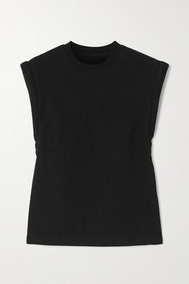RtA Kairi Cotton-jersey T-shirt - Black