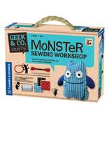 Boy's Thames & Kosmos 'Monster Sewing Workshop' Sewing Starter Kit